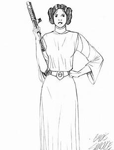 Ausmalbild Prinzessin Leia Princess Leia Coloring Pages Coloring Home