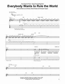 everybody wants to rule the world sheet music direct