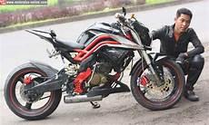 Modifikasi Motor Tiger Revo by Foto Modifikasi Motor Honda Tiger Revo Fighter Terbaru