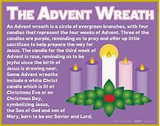 new arrivals meaning of the advent wreath poster set 6