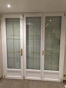 installation d une porte fen 234 tre 3 vantaux pvc de la gamme