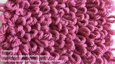 Loop Stitch Embossed Knitting Patterns Free Knitting