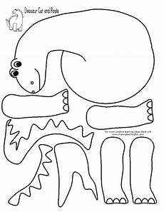 free printable dinosaur coloring pages for preschoolers 16821 template dinos fossils template activities and daycare ideas
