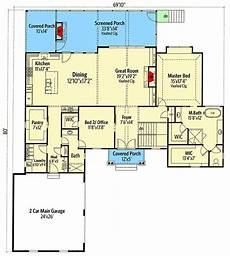 craftsman house plans with walkout basement 4 bed craftsman house plan with walk out basement