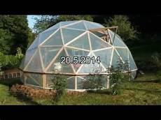 Geod 228 Tische Kuppel Als Gew 228 Chshaus Im Fl 246 Rsbachtal Hessen