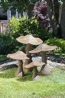 decorative garden mushroom ornament 32 quot from castart studios