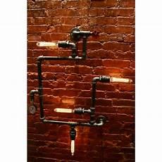 west ninth vintage steunk 4 light industrial pipe wall light wayfair