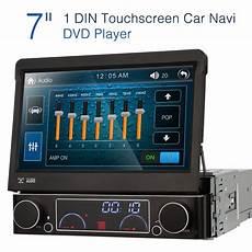autoradio hd 7 quot 1din car dvd stereo monitor gps navigation