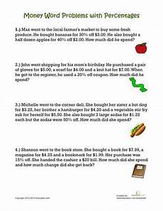 percent word problems worksheet 4th grade 11480 percentage word problems friday free math worksheets math worksheets worksheets