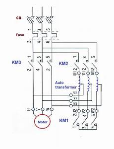 what is auto transformer starter working principle diagram advantages