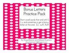 bonus letter worksheets 23982 bonus letter practice pack by a teachers pay teachers