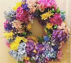Make A 344 Flower Wreath For 15 A Of Rainbow