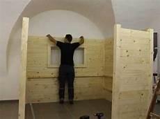 Aufbau Der Bauer Holz Sauna