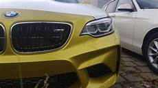 the first bmw m2 in yellow