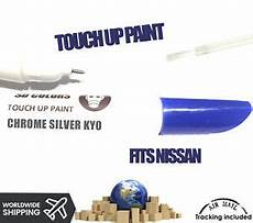 chrome silver ky0 new touch up paint pen for nissan