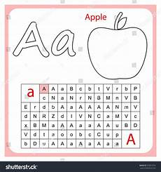 learning letters worksheets for kindergarten 23508 worksheet learning alphabet worksheet preschool children stock vector 703812070