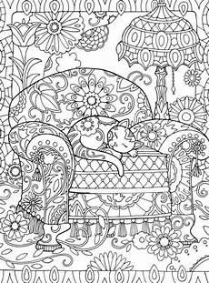 Jpg Malvorlagen Ausdrucken Zentangle Vorlagen Kostenlos Bild Sessel Katze Zimmer