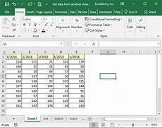 using excel to get data from another sheet based on cell value exceldemy