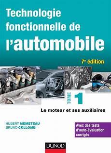 technologie fonctionnelle de l automobile livre