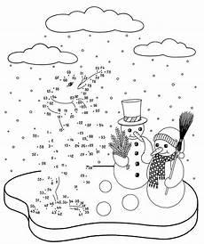 Weihnachten Ausmalbild Zahlen Ausmalbild Malen Nach Zahlen Pinguin Und Schneem 228 Nner