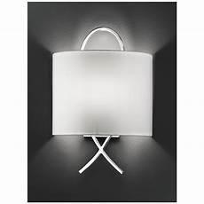 franklite chrome cross half shade wall light wb986