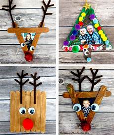 Easy Craft Stick Photo Frames The Keeper Of