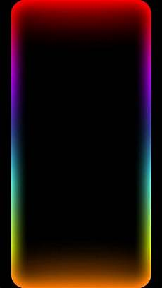 Neon Border Wallpaper Iphone X