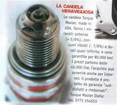 candele al platino candele consigliate per rs 125