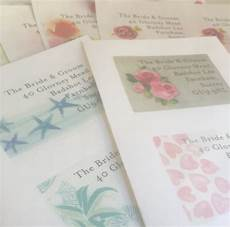 Sending Wedding Invitations