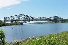 pont en file pont de qu 233 bec vue est jpg wikimedia commons