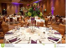 tables at wedding reception stock image image of cutlery