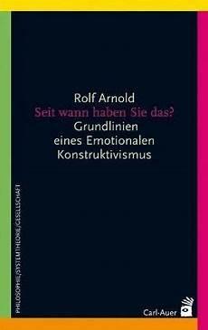 Seit Wann Haben Sie Das Rolf Arnold Fachbuch