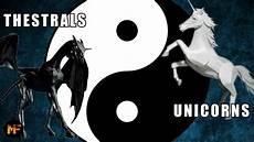 Malvorlagen Yin Yang Unicorn Harry Potter Theory Thestrals Unicorns The Yin Yang