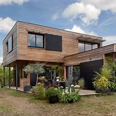 maison design bois maisons durables une maison bois de constructeur mais
