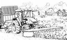 deere tractor to print coloring pages for and