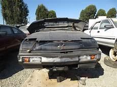 books about how cars work 1984 mitsubishi starion interior lighting 1984 mitsubishi starion le junkyard find