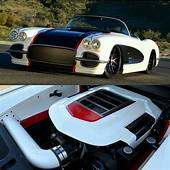 MIX OF OLD & NEW VETTE  Cool Sports Cars Muscle