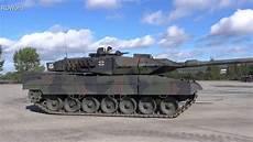 Panzer Leopard 2 A6 In Aktion Bundeswehr Battle