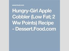 hungry girl apple cobbler  low fat  2 ww points_image