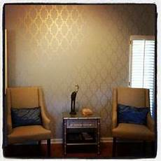 1000 Images About Gold On Gold Walls Stencil