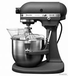 robot cucina kitchenaid kitchenaid 5kpm50egr robot pro k5 2 bols gris anthracite