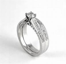 diamond music note ring set custom diamond notes white gold sheet music musician wedding gift