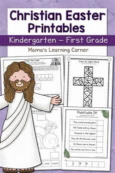 easter worksheets 18849 christian easter worksheets for kindergarten and grade mamas learning corner
