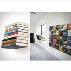 Floating Bracket Bookshelves