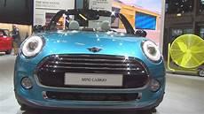mini cooper cabrio 136 hp 2017 exterior and interior in