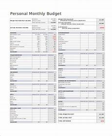 free 33 budget forms in pdf ms word excel