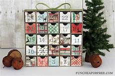 Diy Advent Calendar All You Need Is Scrapbook Paper