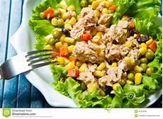 Thunfischsalat Mit Mais - thunfischsalat mit mais stockfoto bild di 228 tetisch