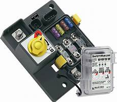 Safetyhub 250 Fuse Block And Solenoid With Manual