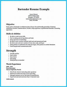 impressive bartender resume sle that brings you to a bartender how to write a resume in